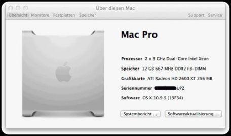 Mac Pro Systemupdates