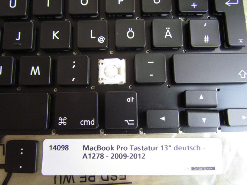 MacBook Pro Tastaturmechanik und Kappen 13 Zoll 2009 - 2012
