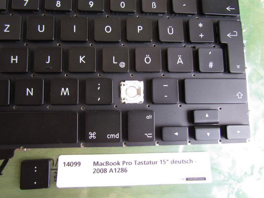 MacBook Pro Tastaturmechanik und Kappen 15 Zoll 2008