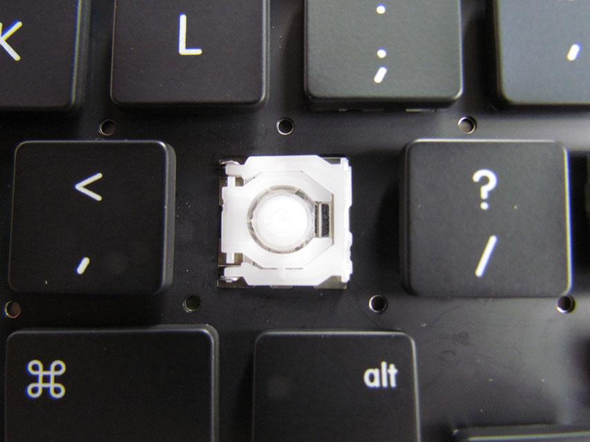 MacBook Pro Tastatur Hebelmechanik und Kappe 15 Zoll 2009 - 2012 US Version