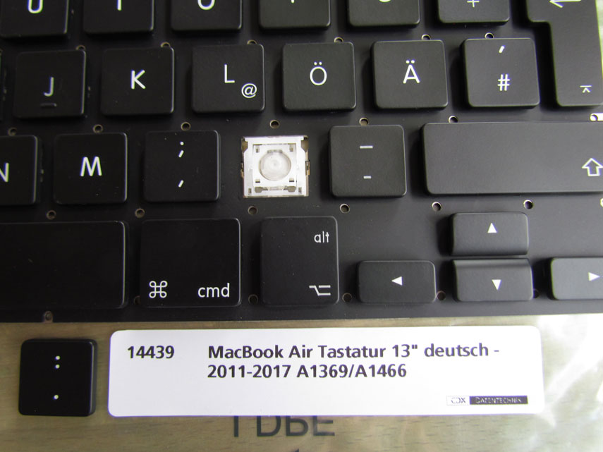 MacBook Air Tastatur 13 Zoll 2011-2017