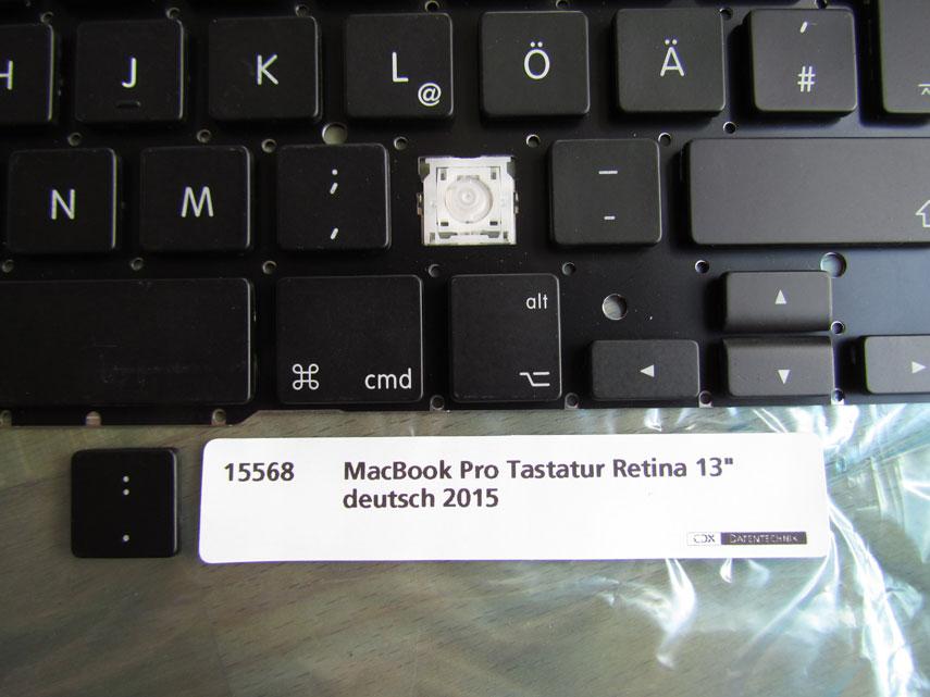 MacBook Pro Retina Tastatur 13 Zoll 2015