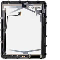 iPad Display - iPad 1 WiFi mit Rahmen Full Assembly