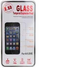 iPhone 6 / 6S Displayschutz Schutzglas - Explosion Proof Tempered Glass Black
