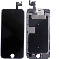 iPhone 6S Display Schwarz komplett - HighCopy
