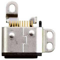iPod Nano 7Gen Lightning Connector Flex Cable Black