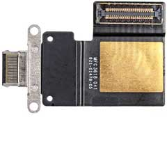 iPad Pro 12,9 3.Gen / iPad Pro 11 1.Gen USB-C Buchse black