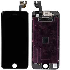 iPhone 6 Display Schwarz komplett Original