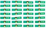 iPhone 6 Plus / 6S Plus Abstandshalter Ambient Light Sensor 10er Pack